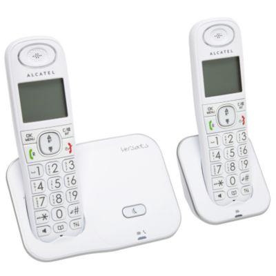t l phone sans fil t l phone sans fil alcatel xl350 duo chez boulanger. Black Bedroom Furniture Sets. Home Design Ideas