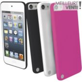 Etui MUVIT iPod Touch V silicone x3 + film