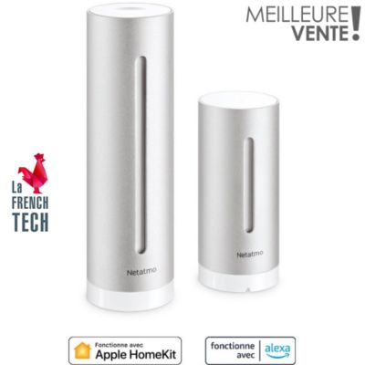 Station m t o vos achats sur boulanger - Netatmo station meteo ...