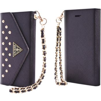 etui guess clutch case iphone 5 5s collec studded coque. Black Bedroom Furniture Sets. Home Design Ideas