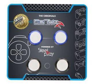 Steelplay Grips Geltabz Universels Pour Sticks x4