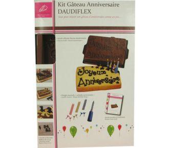 Daudignac Coffret pour gâteau d\'anniversaire