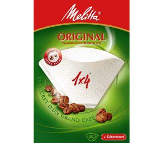 Melitta 1X4*80 Original +1 sachet detartrant
