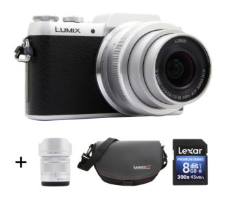 Panasonic DMC-GF7 + 12-32 + 35-100 + Sac + SD 8Go