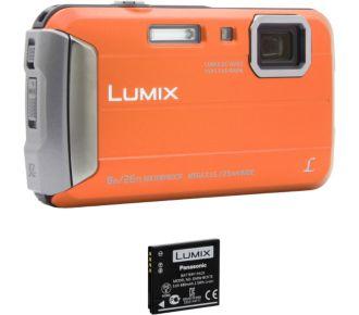 Panasonic DMC-FT30 orange + 2ème batterie