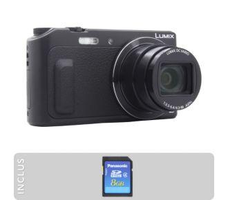 Panasonic Pack DMC-TZ57 + SD 8Go