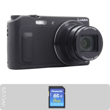 Panasonic pack dmc tz57 sd 8go appareil photo compact - Boulanger appareil photo numerique ...
