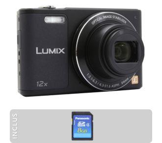 Panasonic Pack DMC-SZ10 noir + SD 8Go
