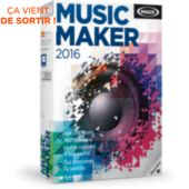 Logiciel de musique MAGIX Music Maker 2016