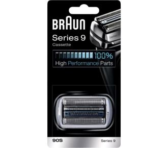 Braun Cassette series 9 silver