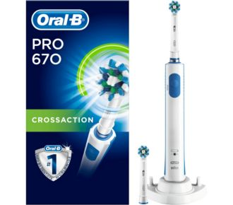 Oral-B PRO 670 CROSS ACTION