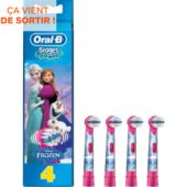Brossette dentaire Oral-B Reines des Neiges x4