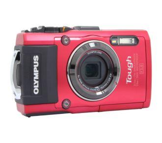 Olympus TG-4 rouge
