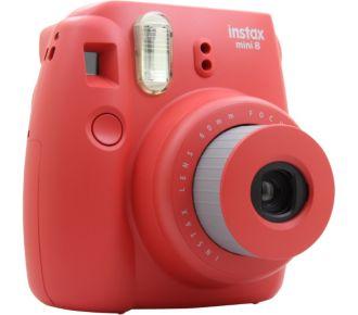 Fuji Instax Mini 8 Rouge