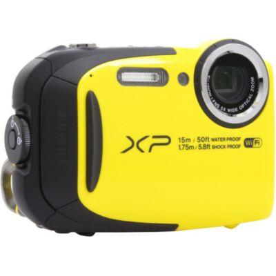 Appareil photo compact fuji xp80 jaune - Appareil photo etanche boulanger ...