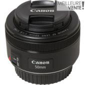 Objectif pour Reflex CANON EF 50mm f/1.8 STM