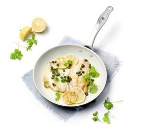 Greenpan Brussels Noir/Crème Ø20cm