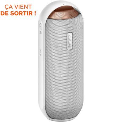 Enceinte Bluetooth PHILIPS BT6000 blanche, Dock iPod MP3 et enceinte