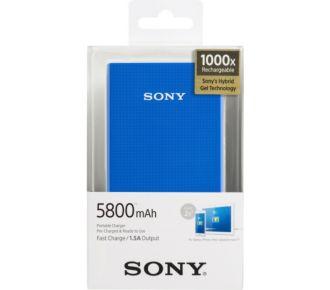 Sony bleu 5800 mAh CP-E6BL