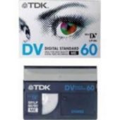 Cassette vidéo standard TDK DVM Std 60 Pack de 5