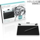 Tablette graphique WACOM Intuos Draw White Pen Only Small