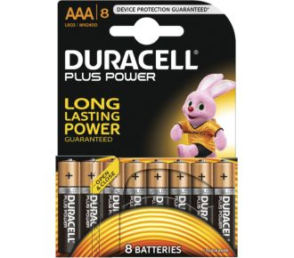 Duracell AAA x8 Plus Power LR03