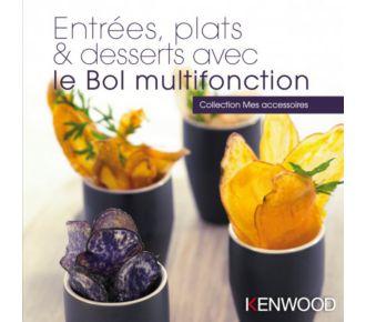 Kenwood Entrées, plats, desserts avec bol KAH647