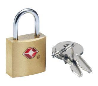 Go Travel Cadenas TSA à clés laiton