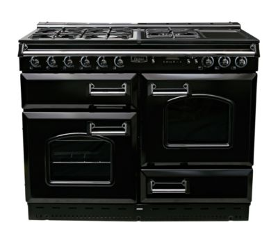 Piano de cuisson gaz FALCON CLASSIC 110 Mixte NOIR CHROME