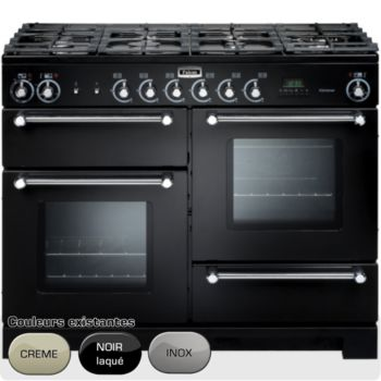 Falcon kitchener 110 mixte noir chrome chez boulanger - Piano de cuisson 3 fours ...