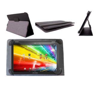 Duragadget Housse étui noir universel tablette 10
