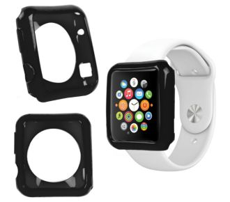 Duragadget noir coque pour montre Apple Watch 38mm
