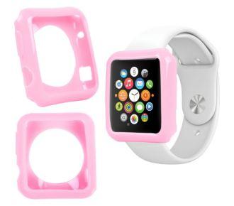 Duragadget rose coque pour montre Apple Watch 38mm