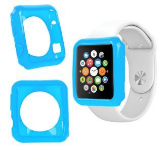 Duragadget bleu coque pour montre Apple Watch 38mm