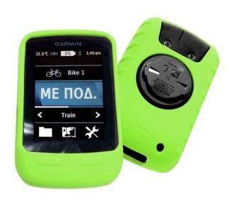 Tuff-Luv en silicone vert pour Garmin 800 / 810