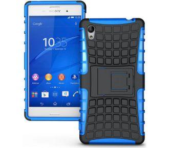 Redneck Tetron Sony Xperia M4 Aqua Bleu
