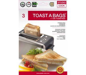Atelier Cuisine TOAST A BAGS x3 réutilisable
