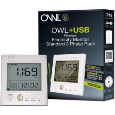 Confort nergie connect owl chez boulanger - Controleur de consommation electrique ...