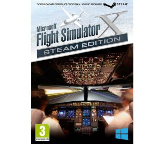 Just For Games Flight Simulator X Gold Steam Edition