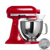 Robot pâtissier KITCHENAID 5KSM150PS EER  ROUGE empire ARTISAN
