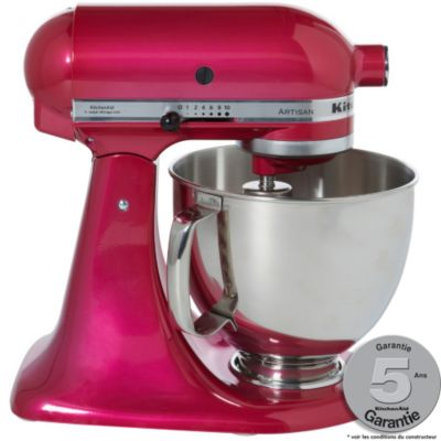 Robot sur socle kitchenaid 5ksm150ps eri sorbet framboise for Avis sur robot kitchenaid