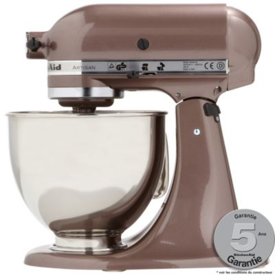 Robot p tissier kitchenaid 5ksm150ps eap macadamia artisan for Avis sur robot kitchenaid