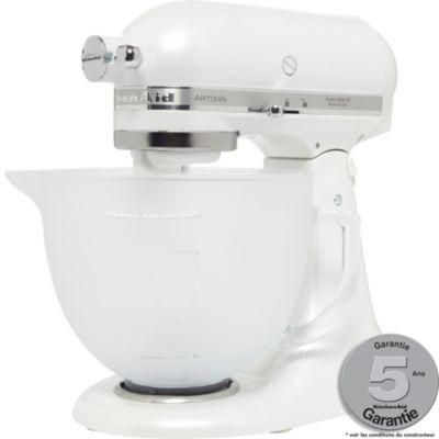 Robot multifonction KitchenAid KSM 1EFP Blanc Givre pas cher