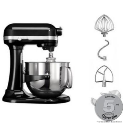 robot p tissier kitchenaid 5ksm7580xeob noir onyx artisan chez boulanger. Black Bedroom Furniture Sets. Home Design Ideas