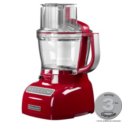 Robot multifonction kitchenaid 5kfp1335eer rouge empire for Avis sur robot kitchenaid