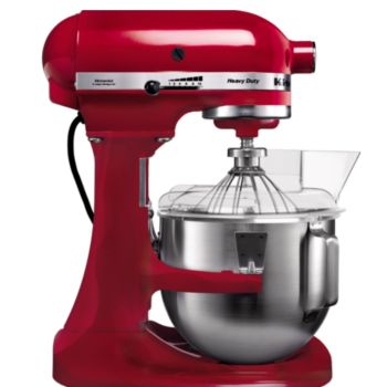 Kitchenaid 5kpm5eer pro rouge empire robot p tissier for Robot de cuisine professionnel