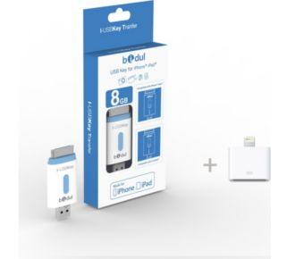 Bidul I-USBKey 8 Go iPhone/iPad + adaptateur