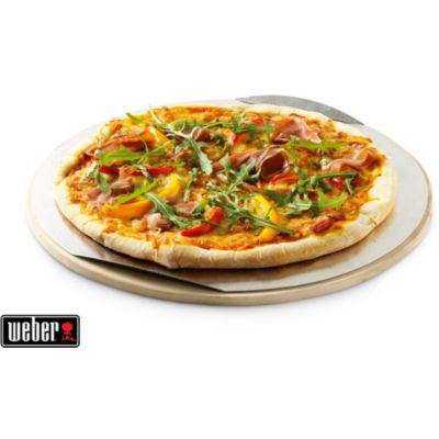 Accessoire barbecue plancha pierre pizza weber chez for Accessoires barbecue weber q140