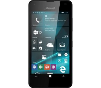 Microsoft Lumia 550 Noir