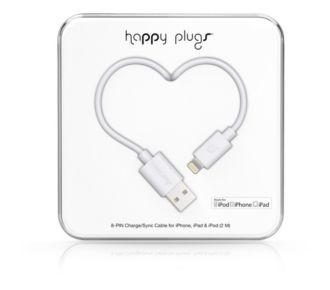Happy Plugs 2M Blanc